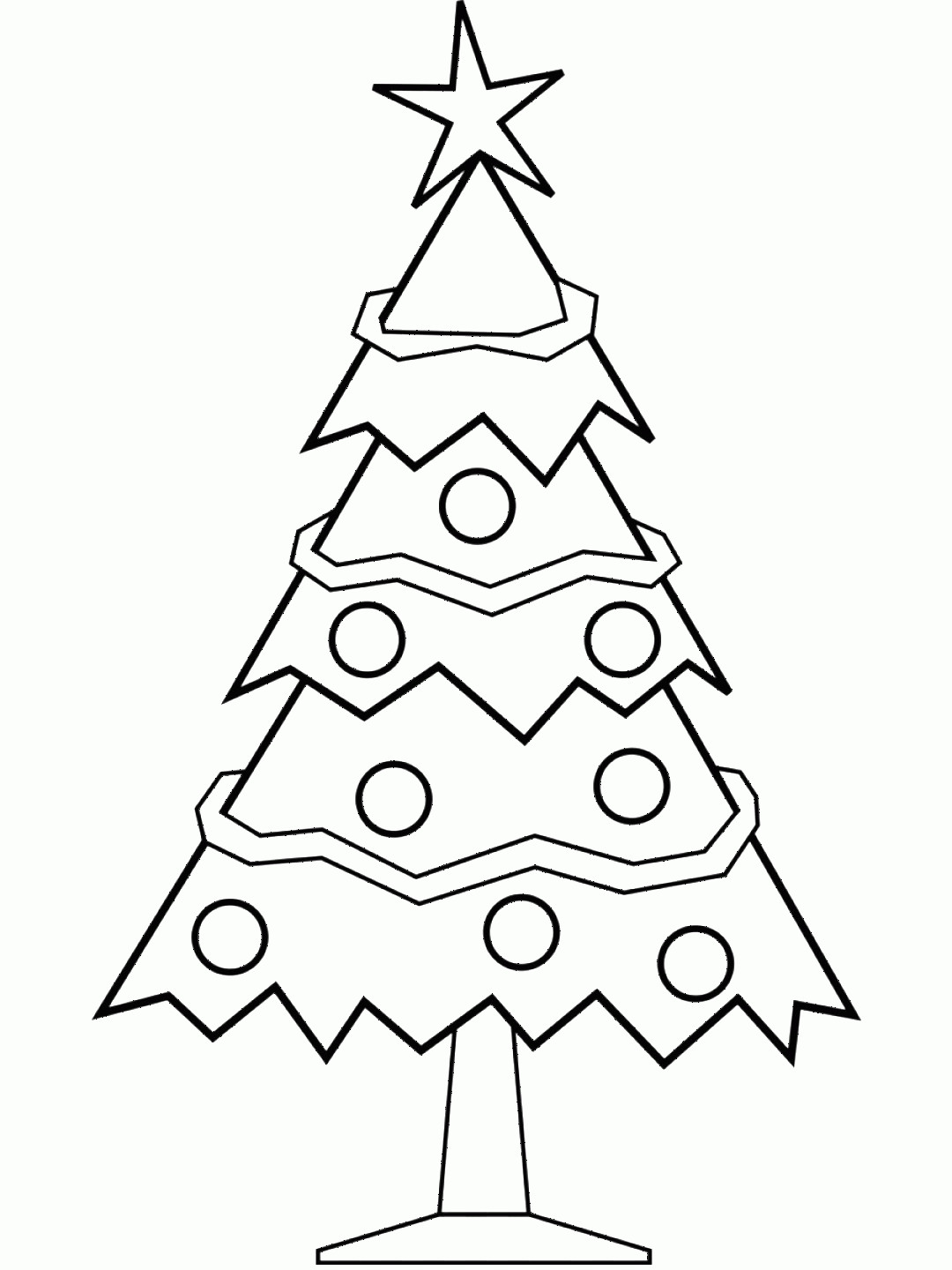 Black And White Christmas Ornament Vector Art: Clip Art Christmas Day Christmas Tree Vector Graph Black White Christmas Tree Design Christmas Tree