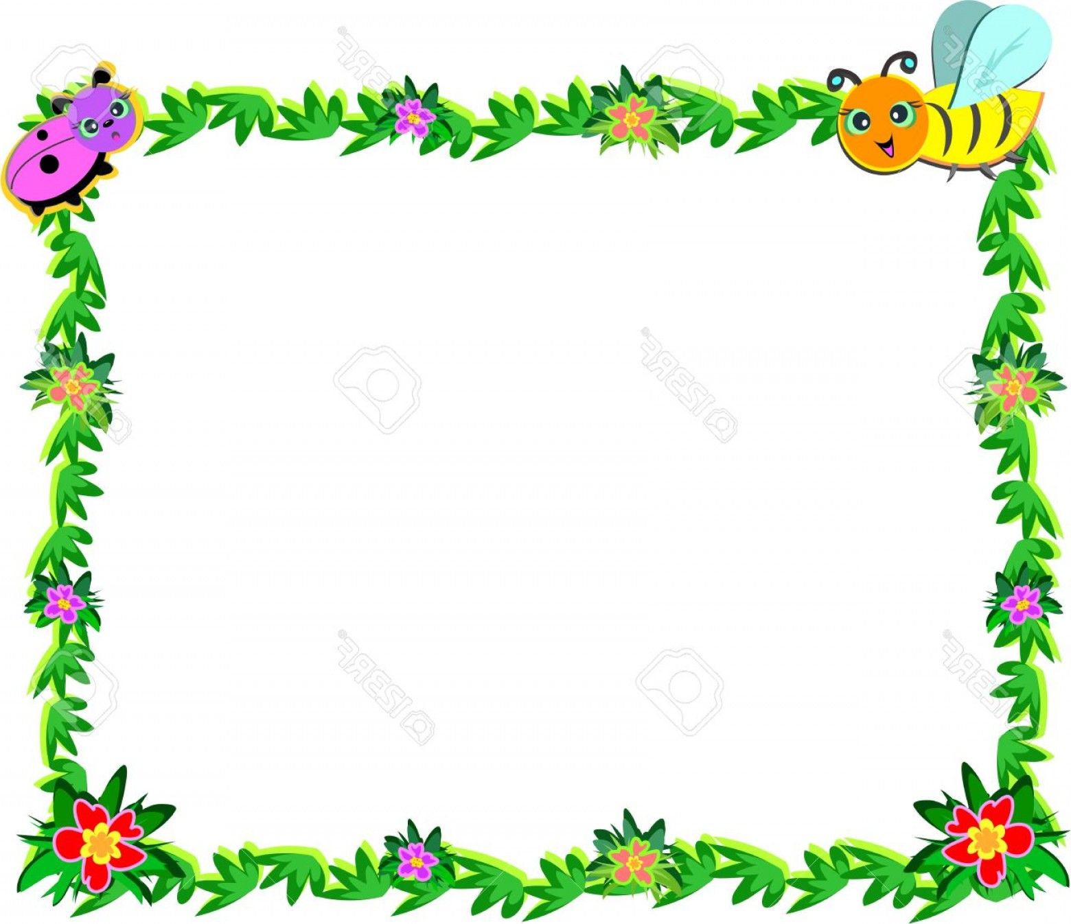 photograph regarding Free Printable Picture Frames and Borders referred to as Disney Frames Flower Vectors CreateMePink