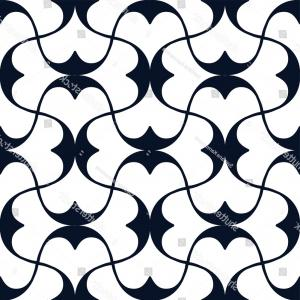 Florid Vector Simple: Classic Simple Elegant Mesh Pattern On