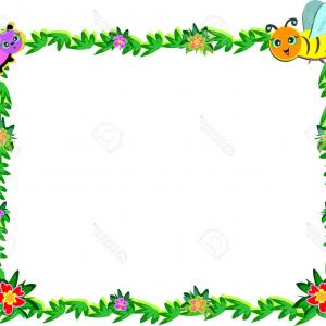 Disney Frames Flower Vectors: Clipart Flower Borders And Frames Free Printable Clip Art Digital Frame Png