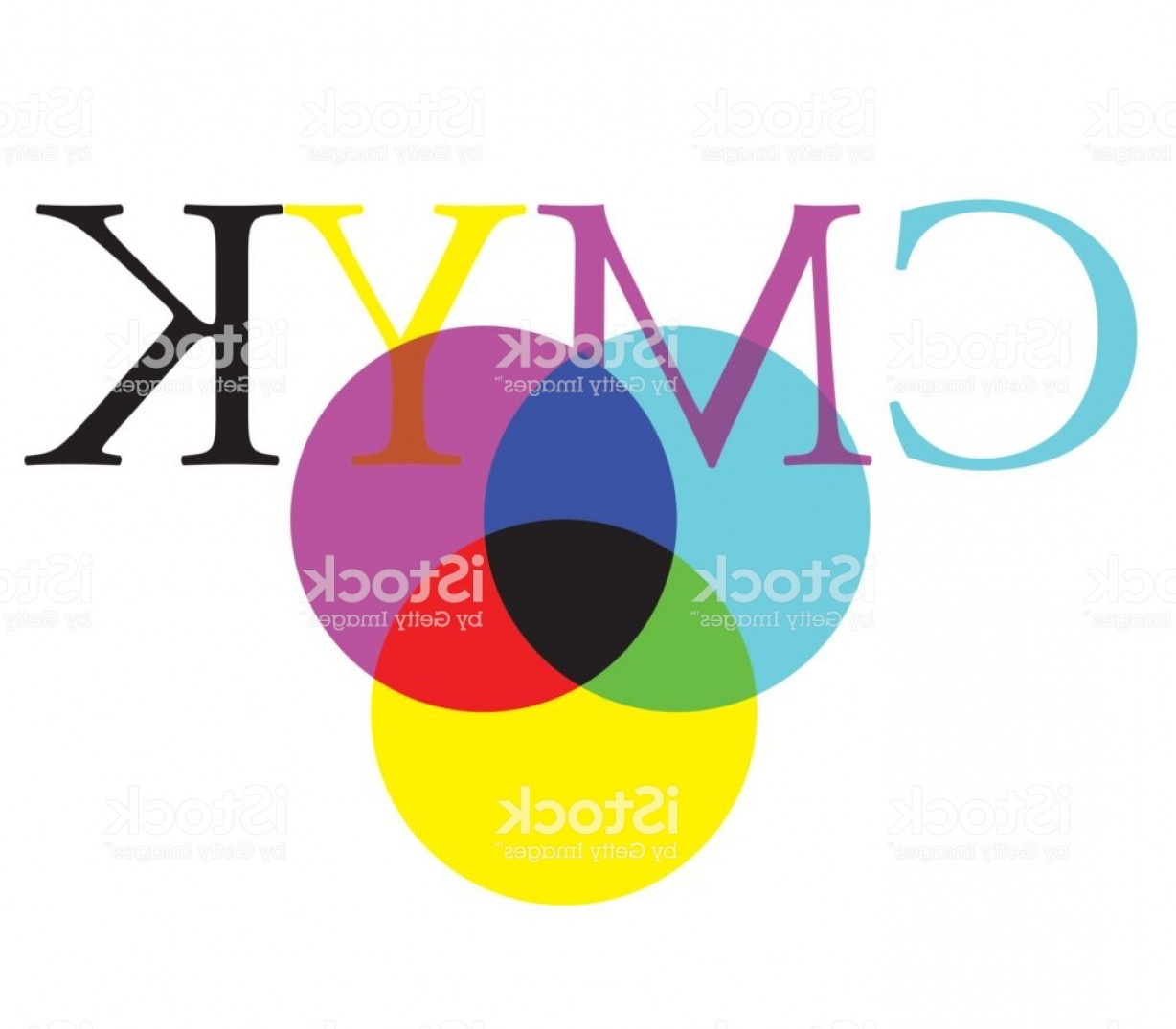 Color CMYK Chart Vector Free: Cmyk And Rgb Color Diagram Gm