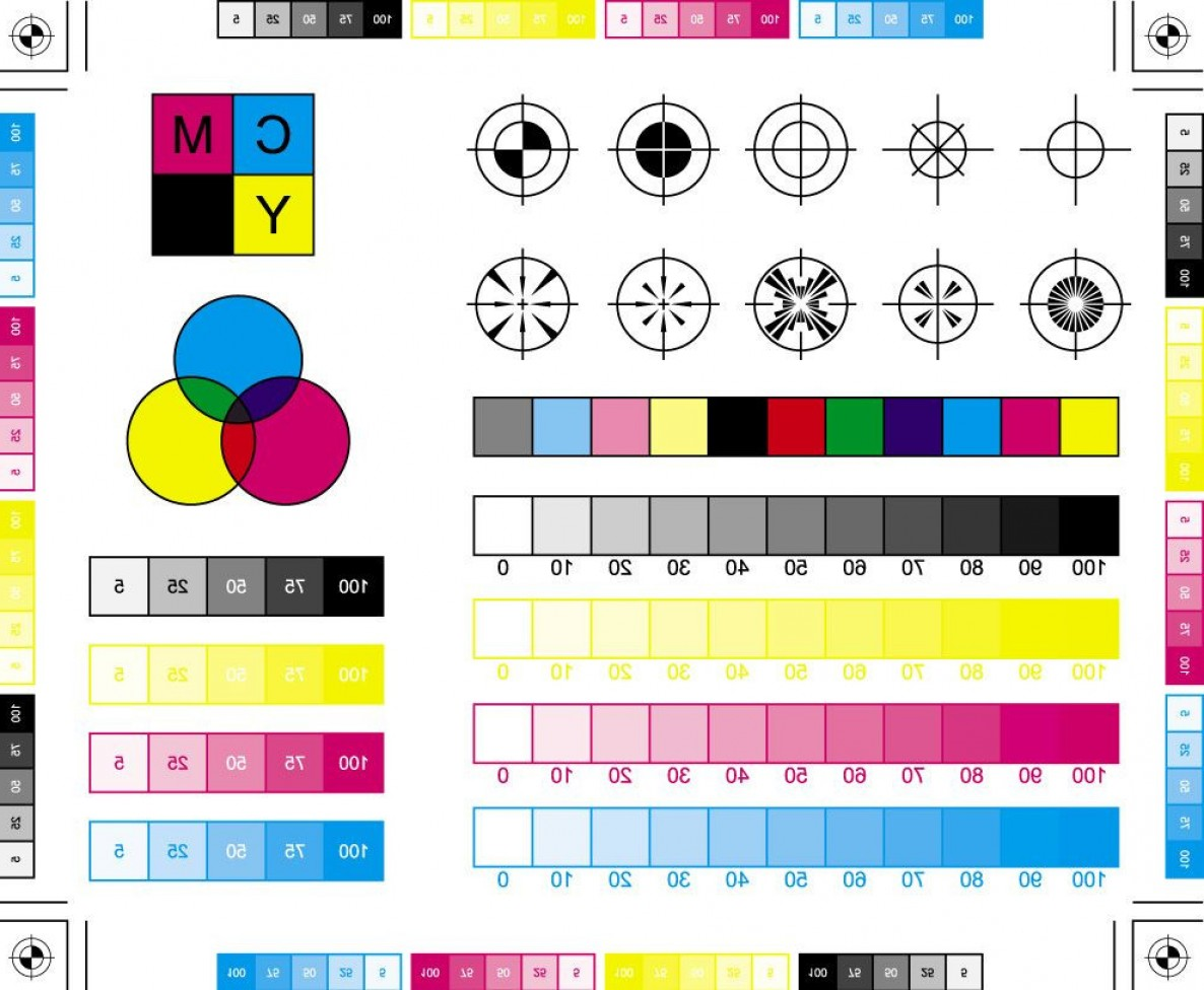 Color CMYK Chart Vector Free: Cmyk Color Chart New Science Of Color Colortheory Colorwheel Image