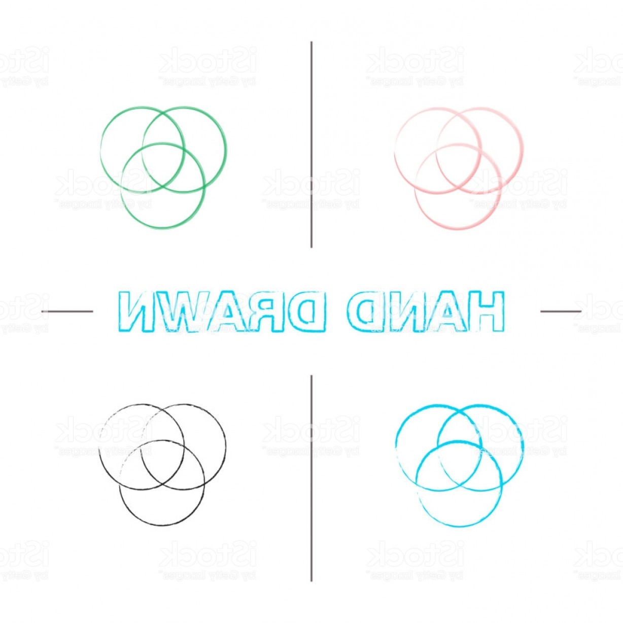 Color CMYK Chart Vector Free: Cmyk Or Rgb Color Circles Icons Gm