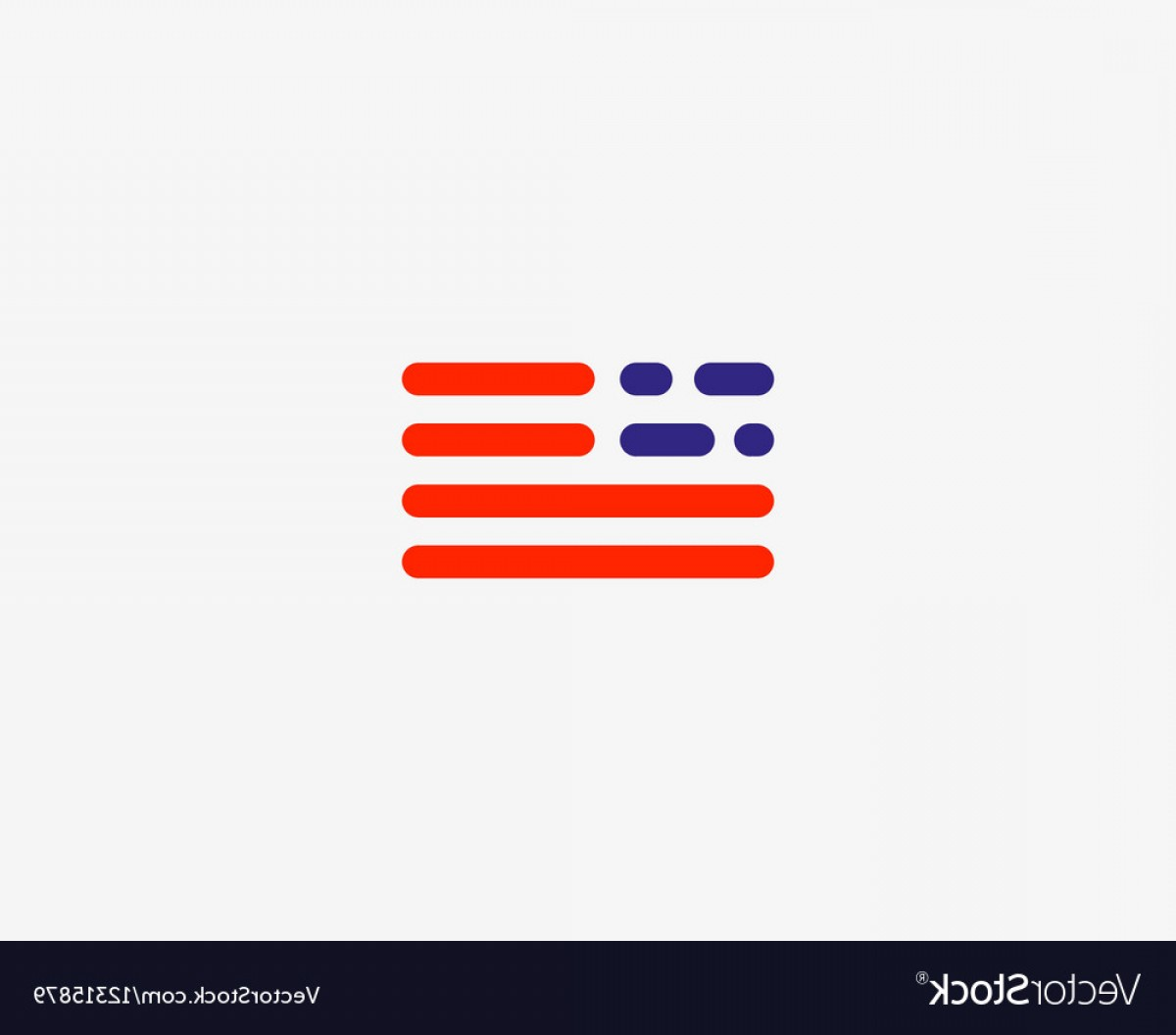 Texas Tech Logo Vector Graphic: Code American Flag Logo Design Usa Patriot Tech Vector