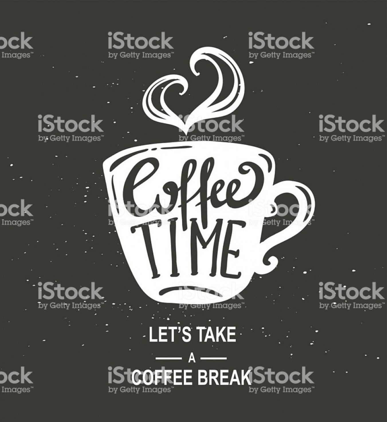 Times-Picayune Vector Art: Coffee Time Hipster Vintage Stylized Coffee Paper Gm