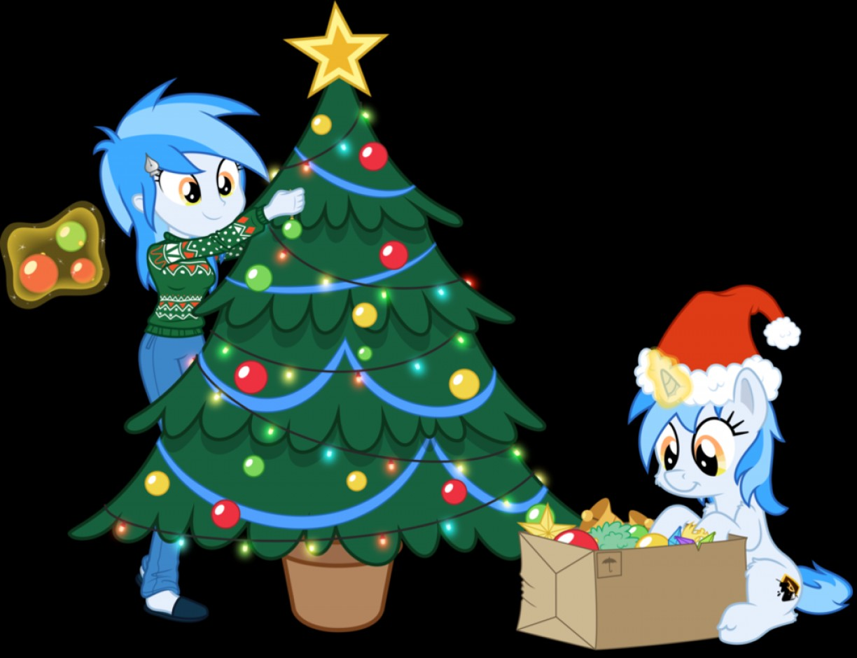 Mlp Christmas.Collab Christmas Vector Of The Mlp Vc Mascot Createmepink