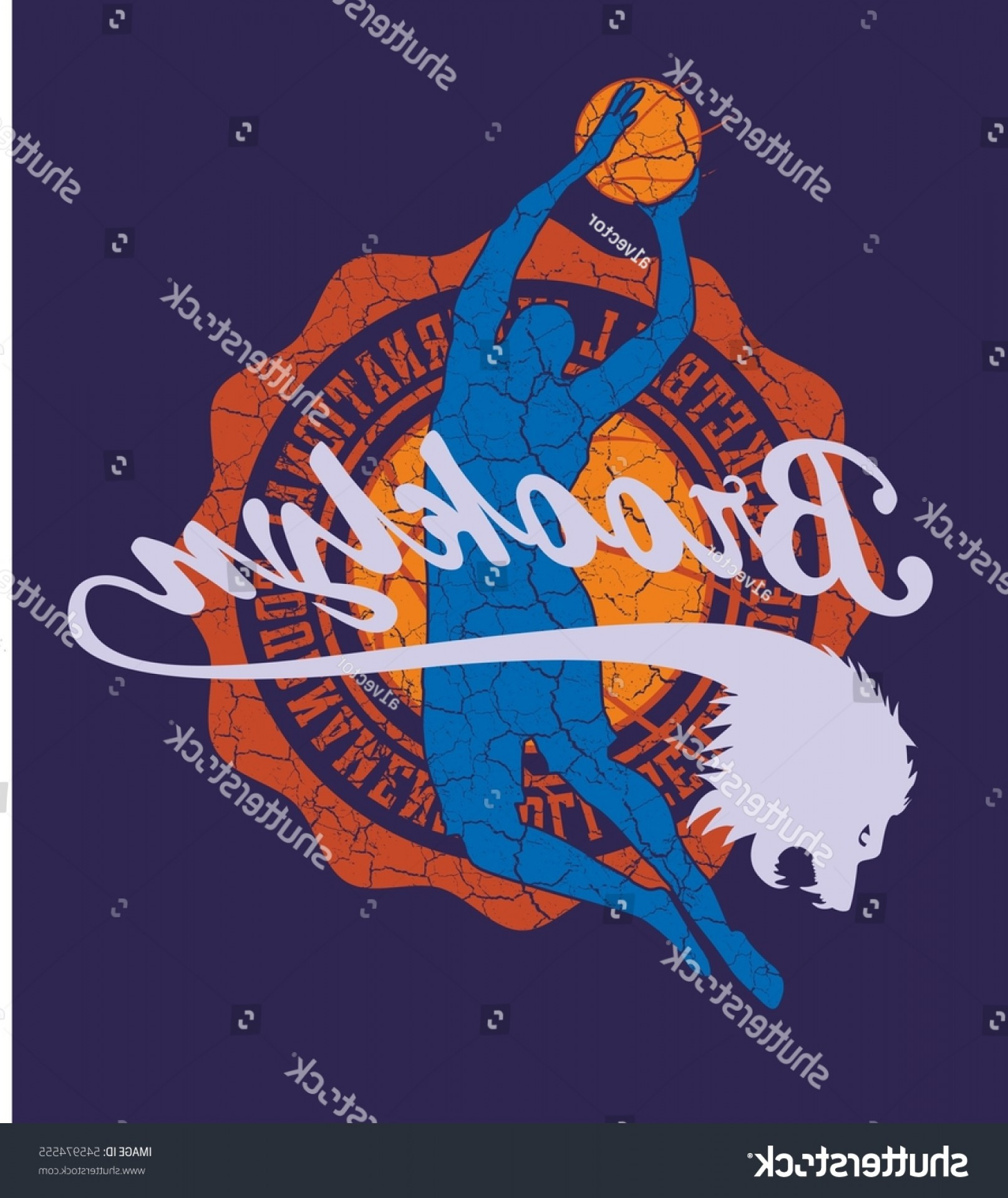Basketball Vector Graphic Designs: College Basketball Graphic Design Vector Art