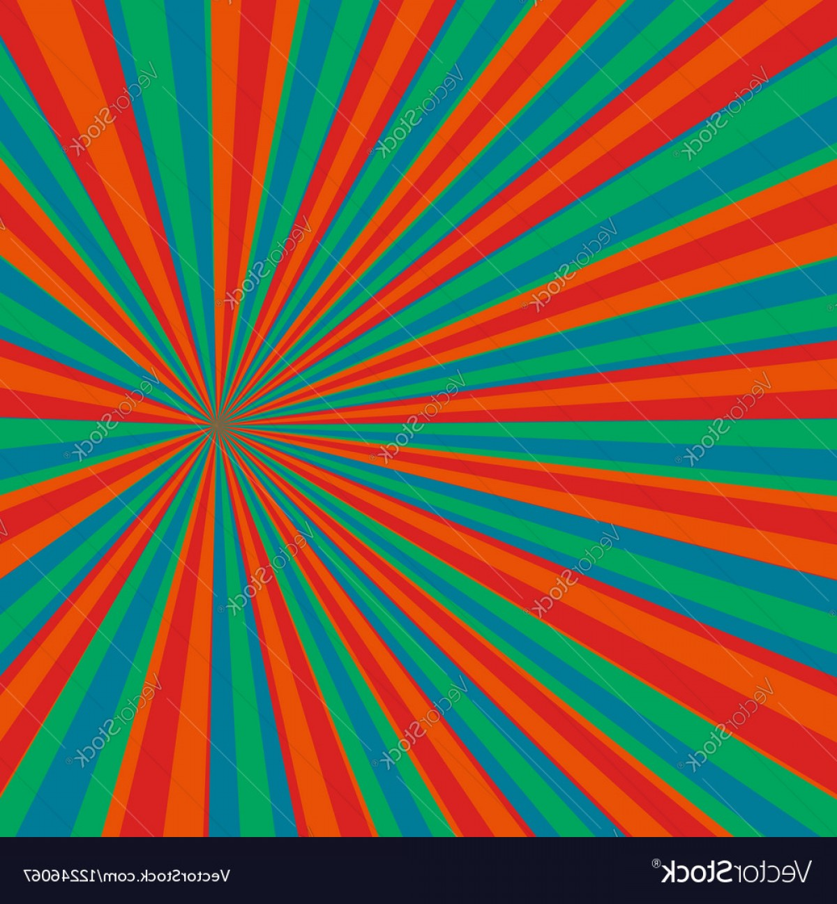 Pop Art Pattern Background Vector: Colored Pop Art Background Vector
