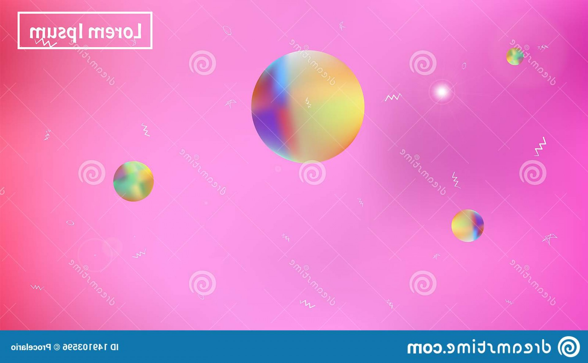 Hires Camera Lens Vector: Colored Space Background Creative Hi Res Fresh Illustration Texture Stars Planets Signs Colorful Universe New Space Background Image