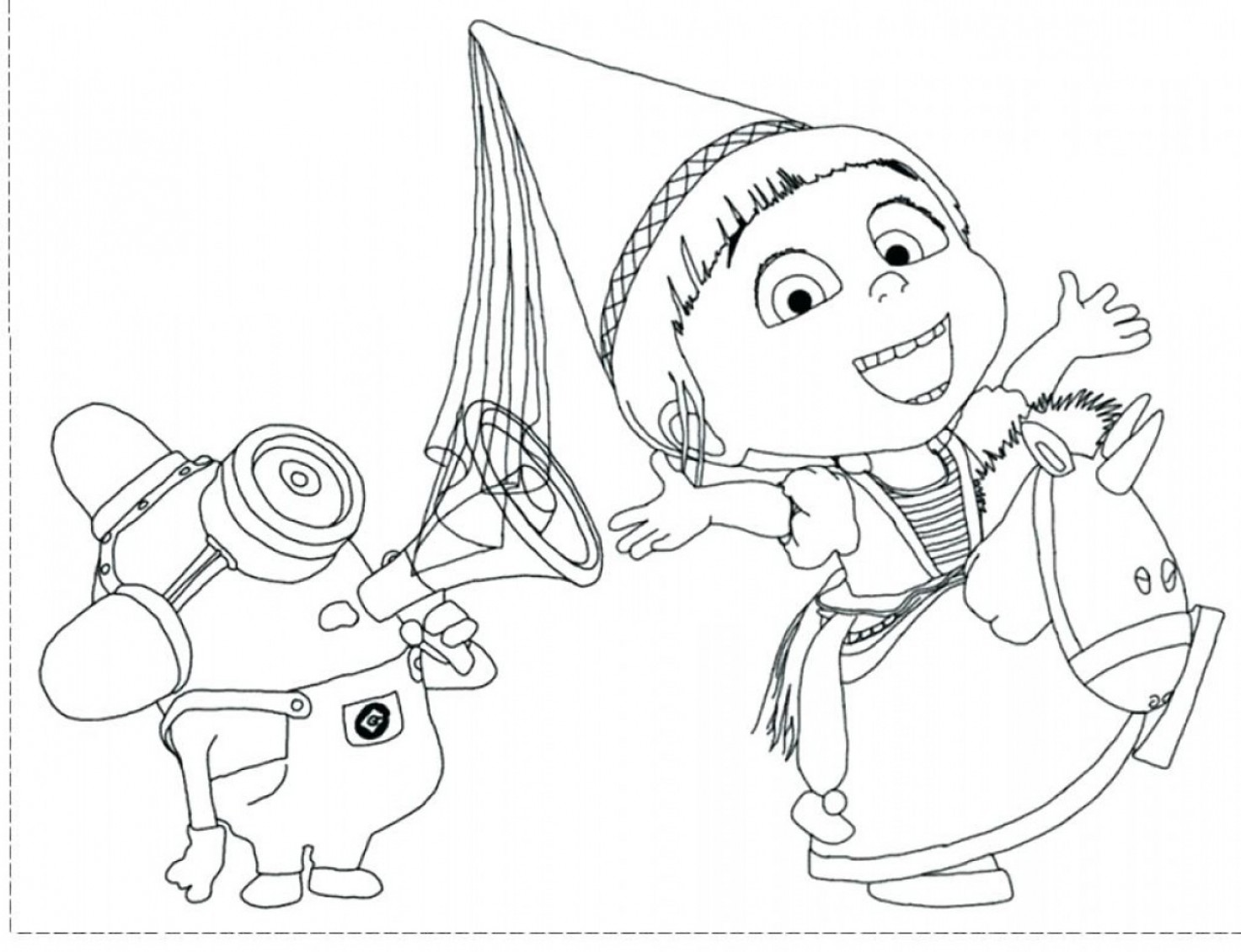 Despicable Me Vector Piranha: Coloring Pages Minions Google Despicable Me Of Vector