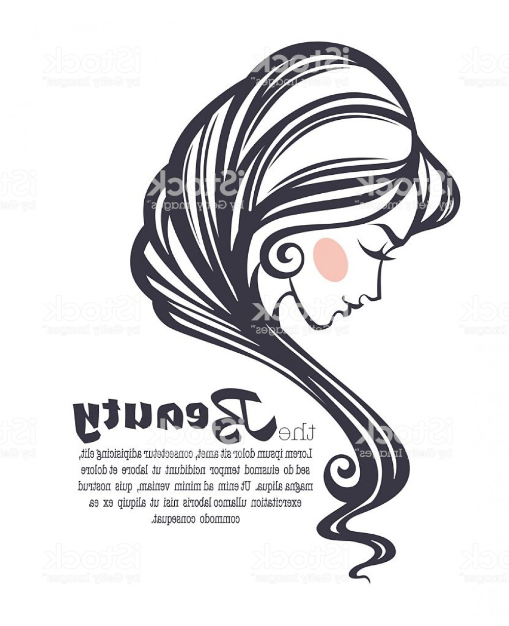 Black Beauty Vector Face: Common Beauty Vector Image Of Girl Face Gm