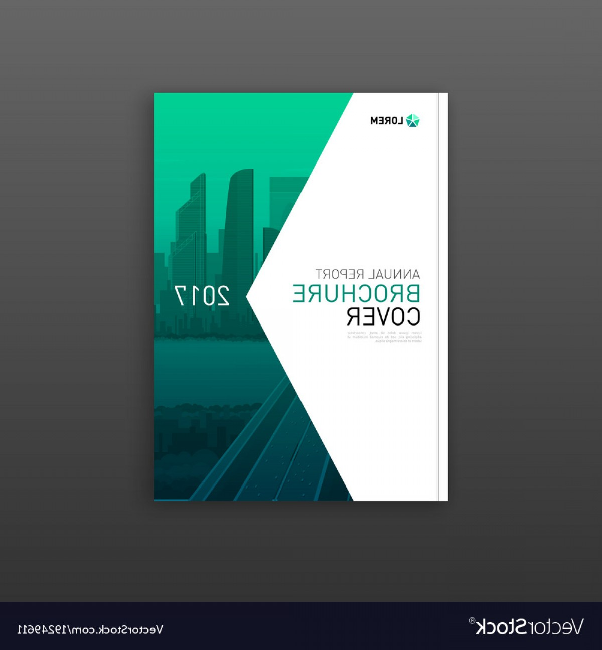 Vector Brochure Cover Designs: Company Brochure Cover Design Layout Vector