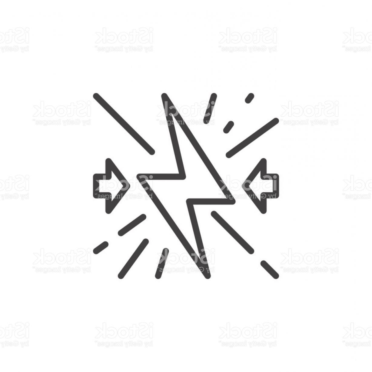Vector NFL Logo Black And White: Conflict Line Icon Outline Vector Sign Linear Style Pictogram Isolated On White Gm