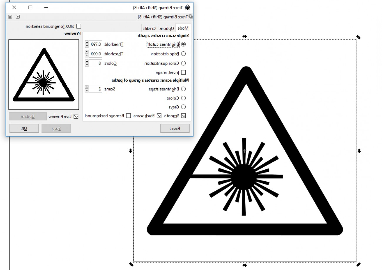 Use An Image To Vector Inkscape: Converting An Image To A Vector Graphic Tutorial