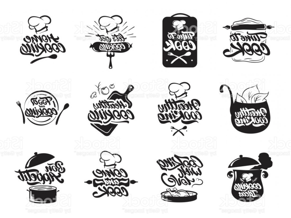 Vector Chef Utensils: Cooking Icons Set Healthy Cooking Bon Appetit Cooking Idea Cook Chef Kitchen Gm