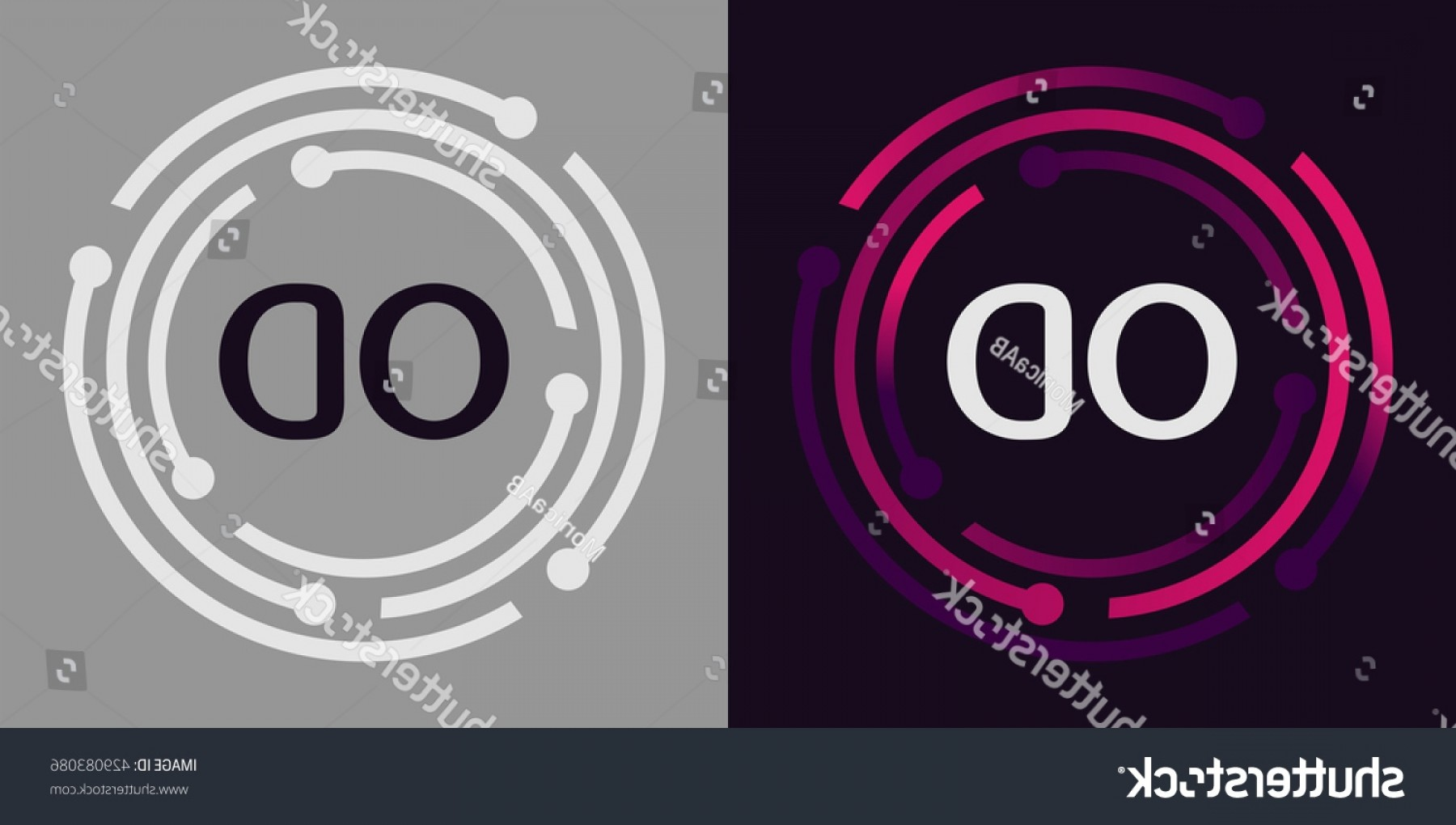 Cool Logo Ideas For Photography Business Elegant Od Letters