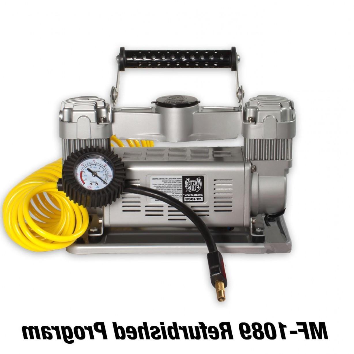 Vector Inflator Compressor Flashlight: Copy Of Portable Twin Cylinder V Air Compressor Diabloww Mf Amps Cubic Inch