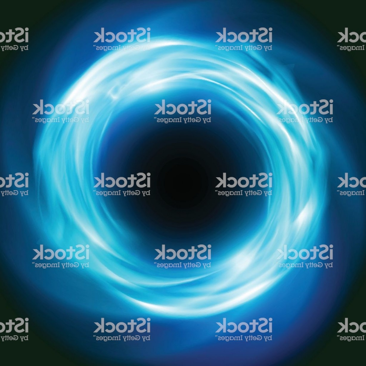 Cosmic Vector Imige: Cosmic Vector Background With Blue Glowing Vortex Gm