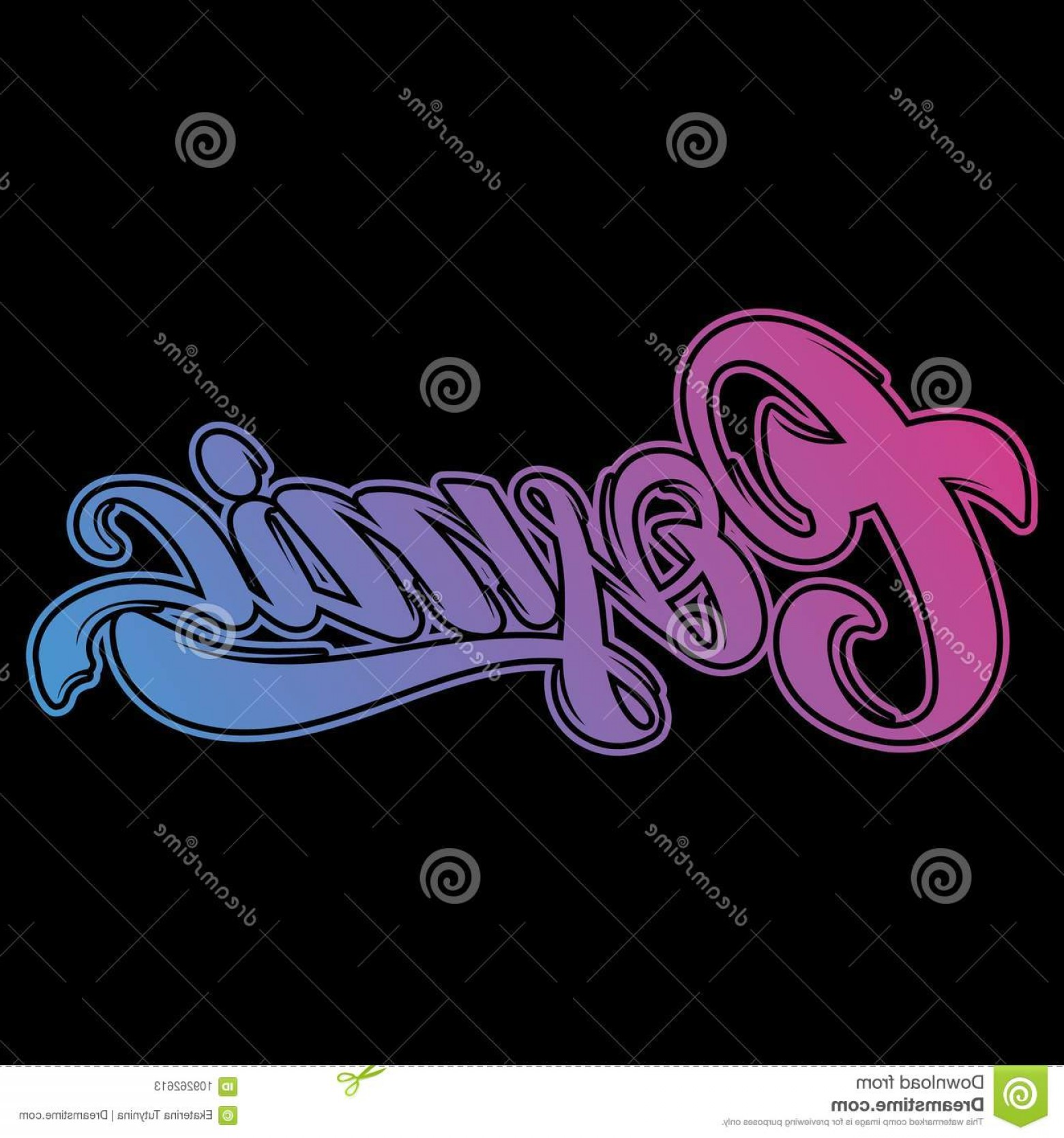 Cosmic Vector Imige: Cosmic Vector Handwritten Unique Lettering Isolated Modern Calligraphy Template Card Poster Banner Print T Shirt Logotype Image