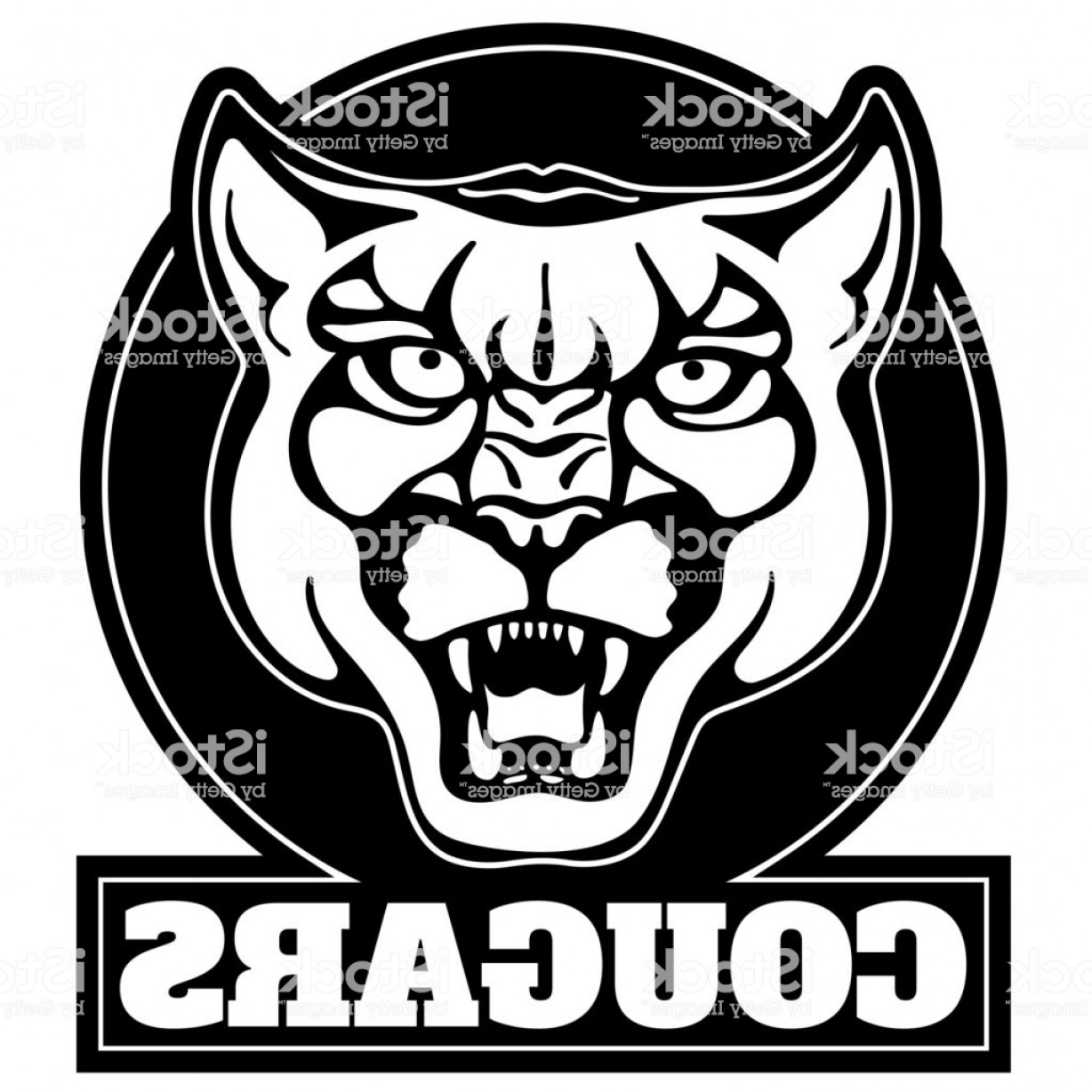 Cougar Logo Vector: Cougar Logo Cougar Head Vector Illustration Gm