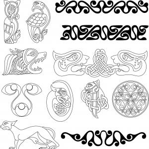2D Vector Art For CNC Cutters: Free Love Heart Symbol Vector Shapes Printable Templates