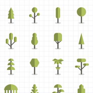 Free Vector Download Sites: Set Of Symbols And Design Elements Vector Clipart