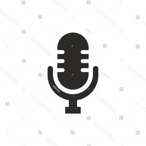 Microphone Recording Vector: Condenser Microphone Recording Icon Vector