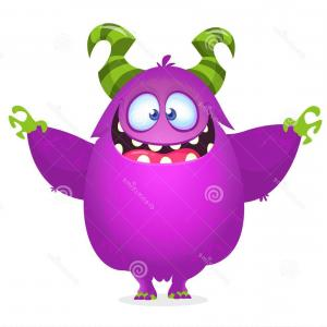 Vector The Crocodile As The Green Goblin: Cool Vector Halloween Monster Character Design Icon Image