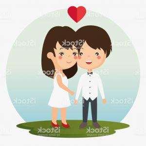 Bridezilla Word Art Vector: Couple In Love Together Forever Icon Gm