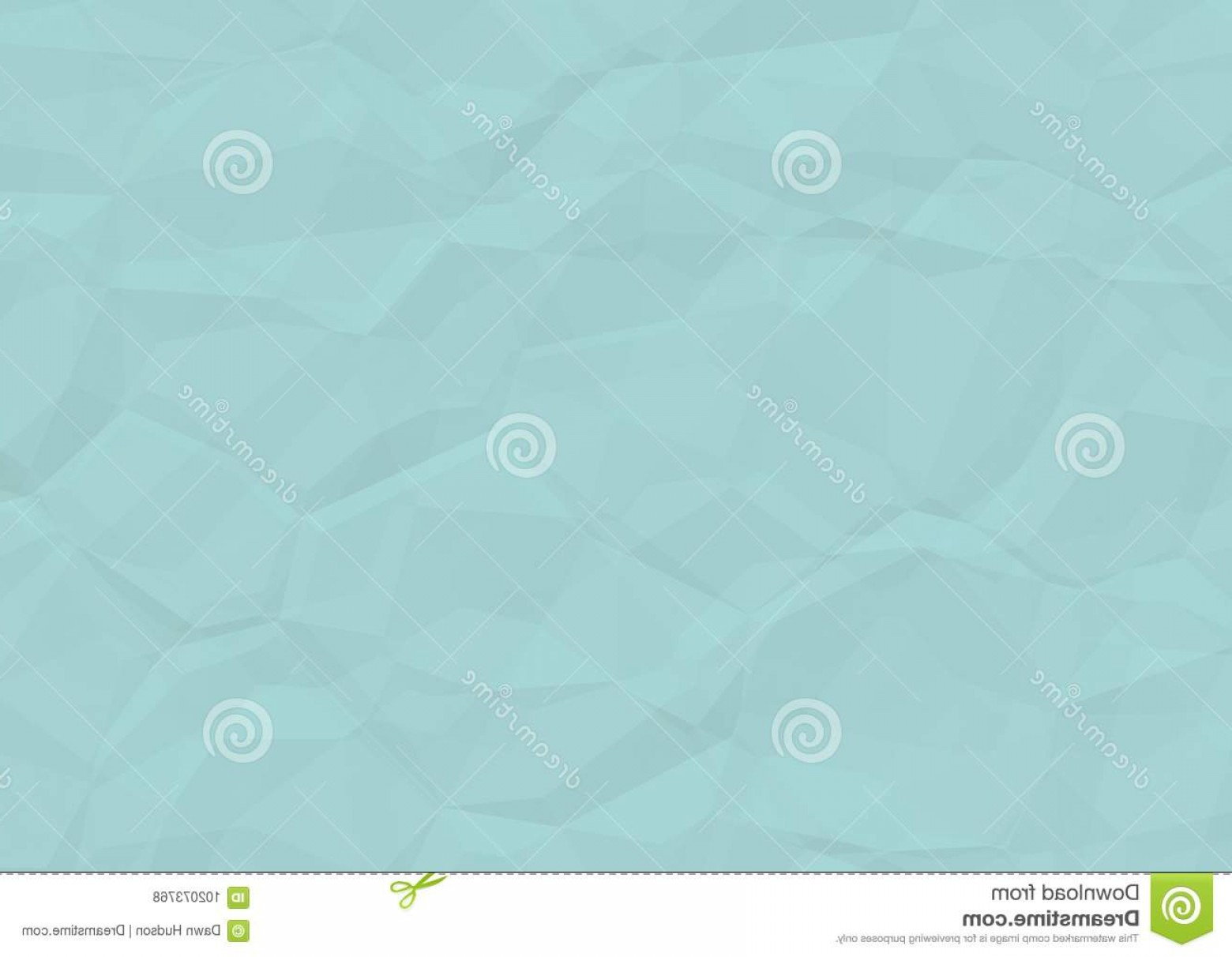 Crinkled Paper Vector: Creased Blue Paper Texture Crinkled Background Image