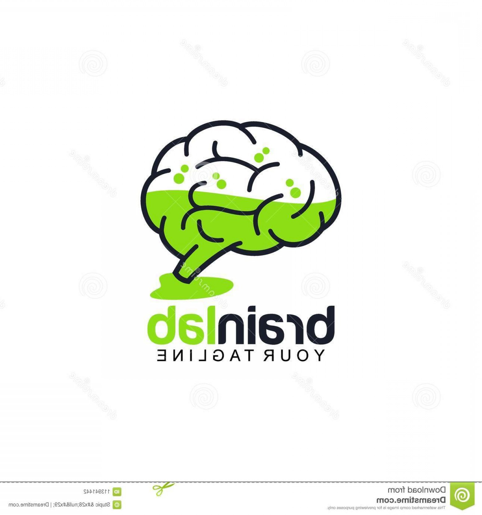 Brain Vector Art: Creative Brain Logo Design Vector Art Logo Creative Brain Logo Design Various Used Purposed Just You Great People Image