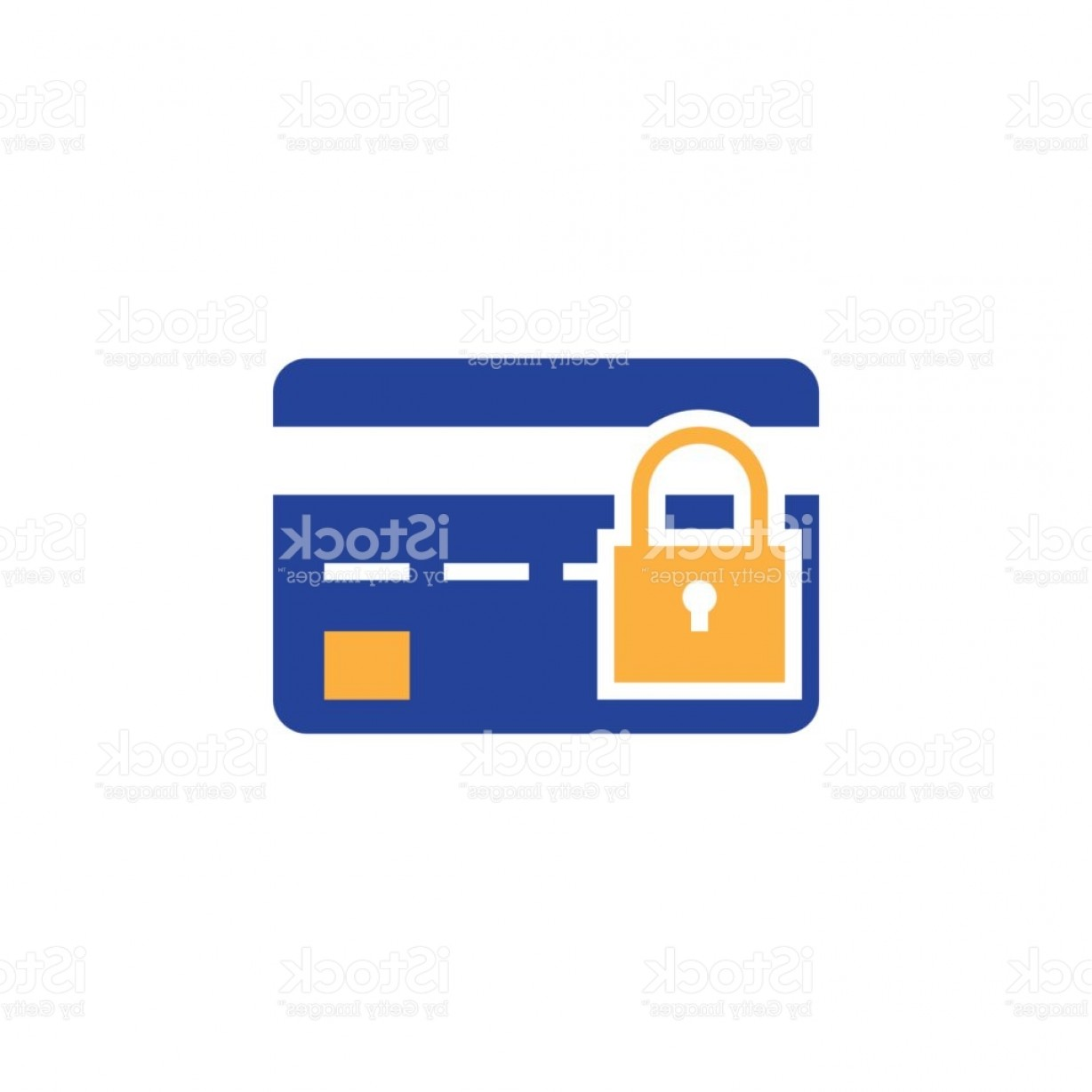 Credit Card Logos Vector: Credit Card Security Icon Vector Safe Payment Concept Solid Logo Color Pictogram Gm