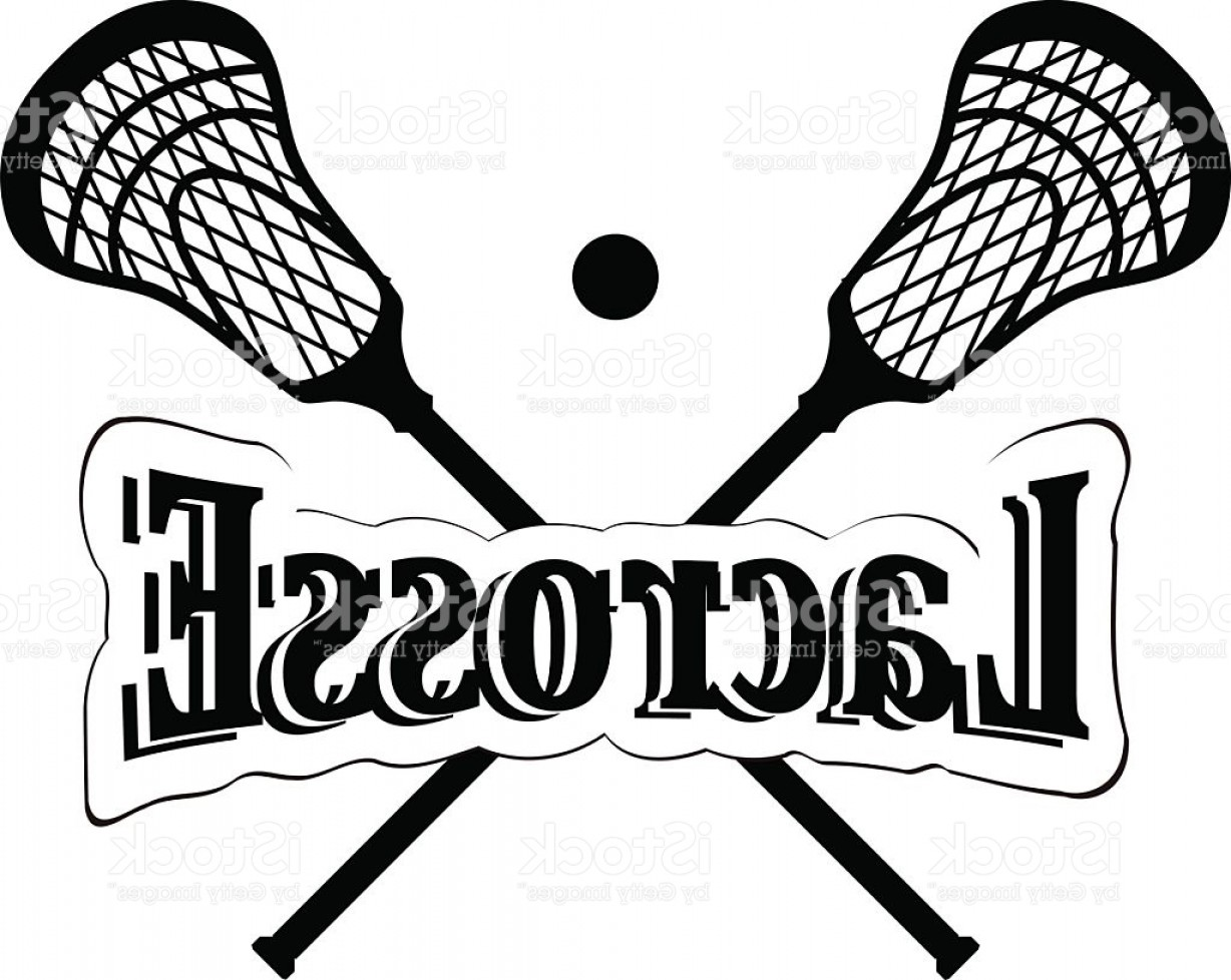 Lacrosse Stick Vector: Crossed Lacrosse Stick Vector Illustration Gm