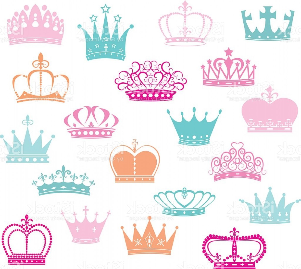 Baby Tiara Silhouette Vector: Crown Silhouette Princess Crown Gm