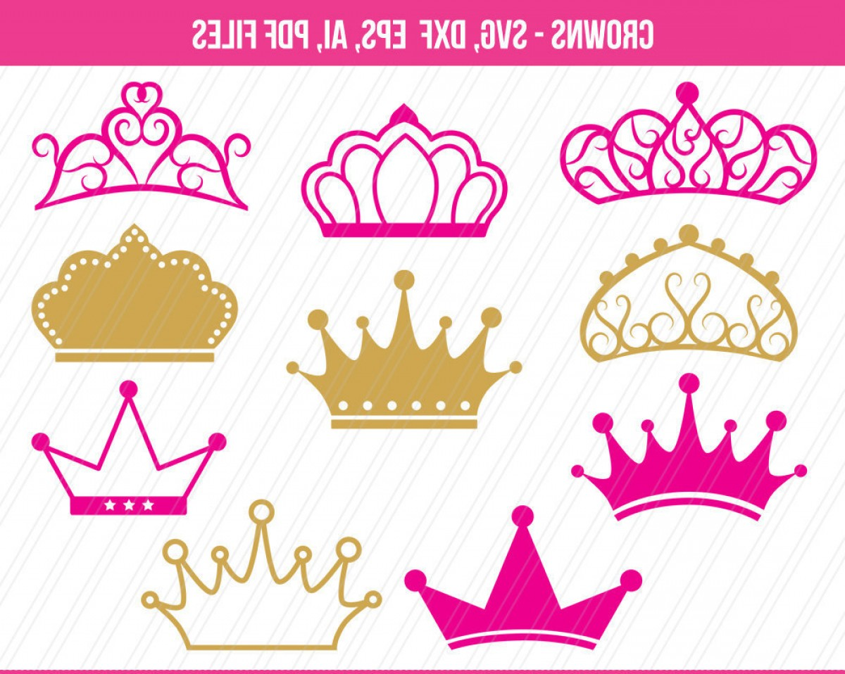 Crown Vector Clip Art: Crowns Svg Cutting Files Crown Clipart