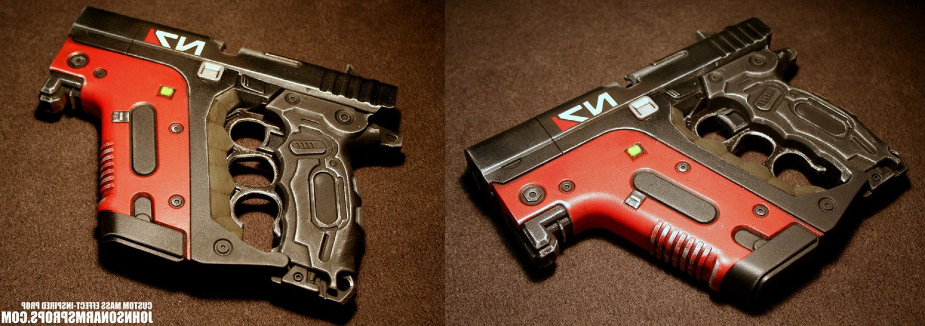 Painted Kriss Vector: Custom Mass Effect Inspired Energy Pistol