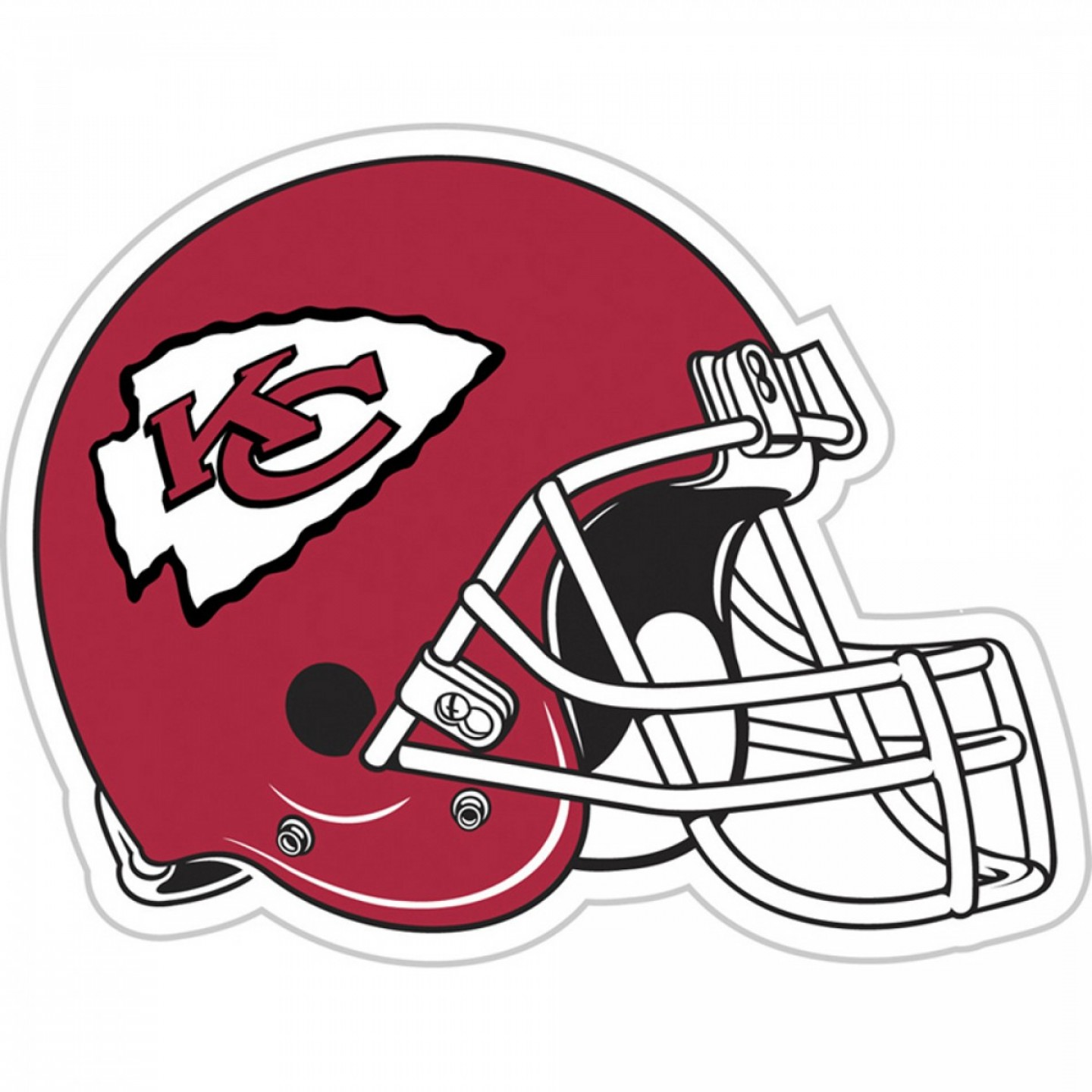 Kansas City Chiefs Logo Vector: Cute Kc Chiefs Logo Nfl Kansas City Stencil Coloring Pages
