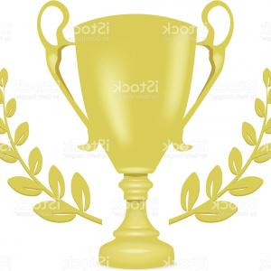Award Vector Leaves: Awards And Laurel Leaves Wreath Set Vector