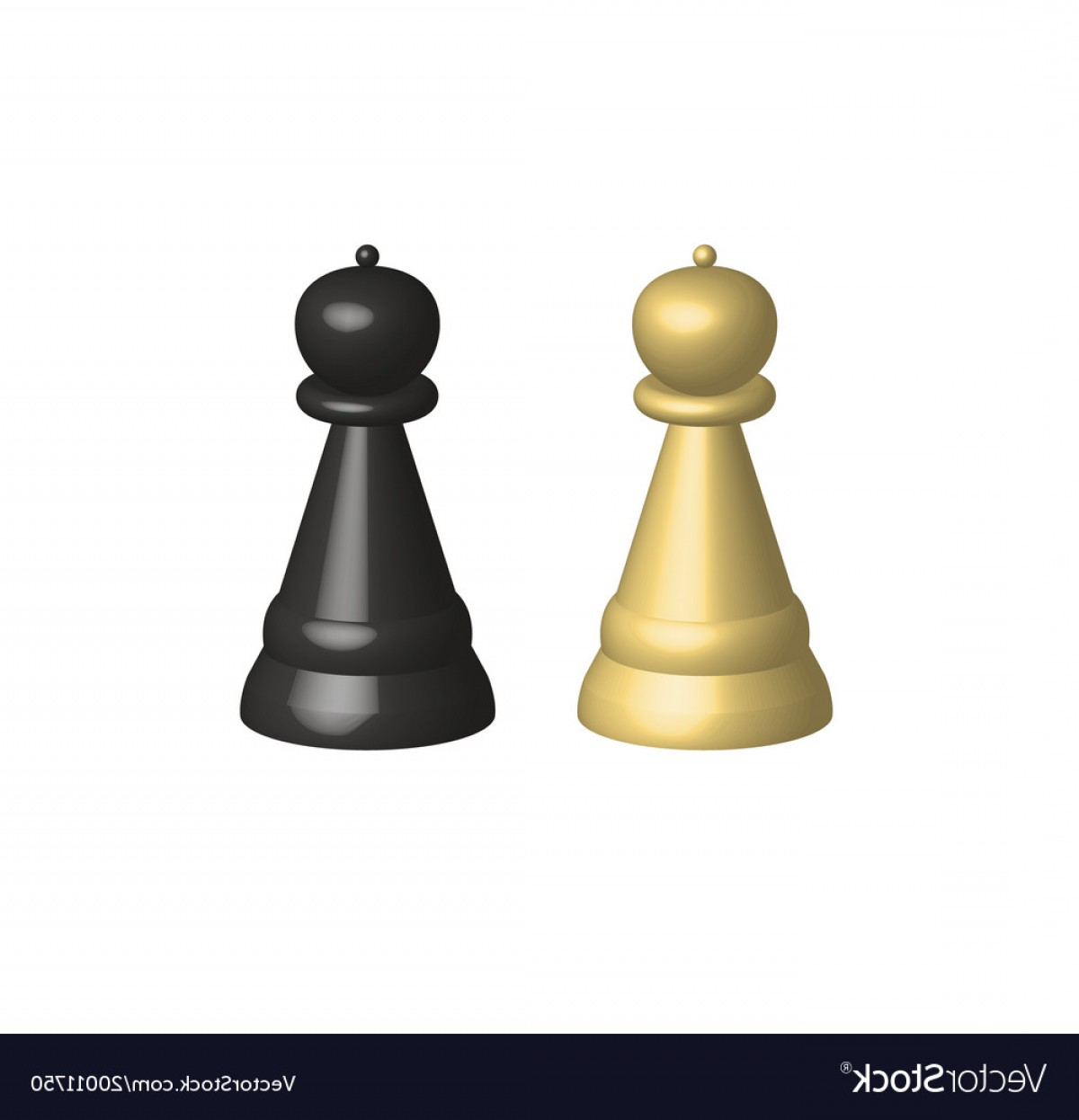 Chess Vector Background: D Chess Pieces On White Background D Chess Vector