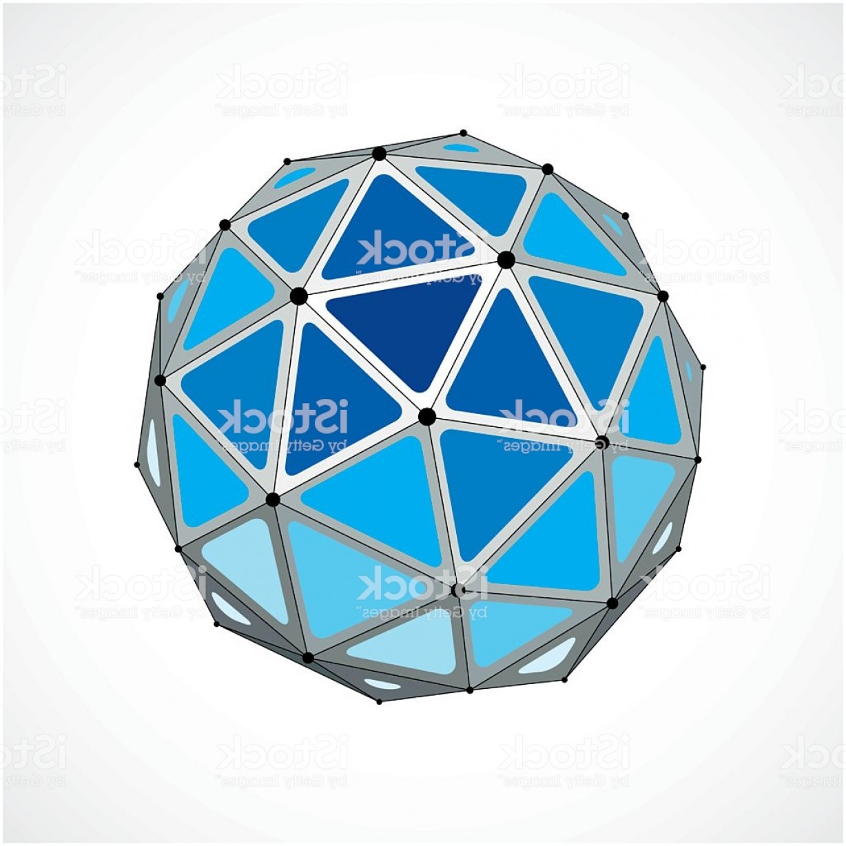 Vector Scissors Truss: D Vector Digital Wireframe Spherical Object Made Using Triangles Gm