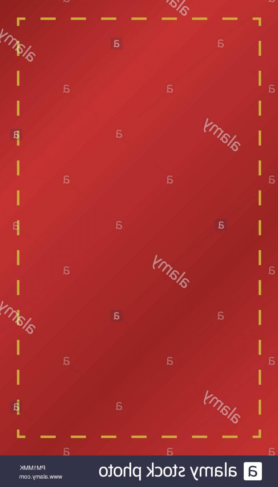 Fabric Orange Ribbon Vector: D Vector Red Empty Rectangle Fabric Ribbon Hang On Image