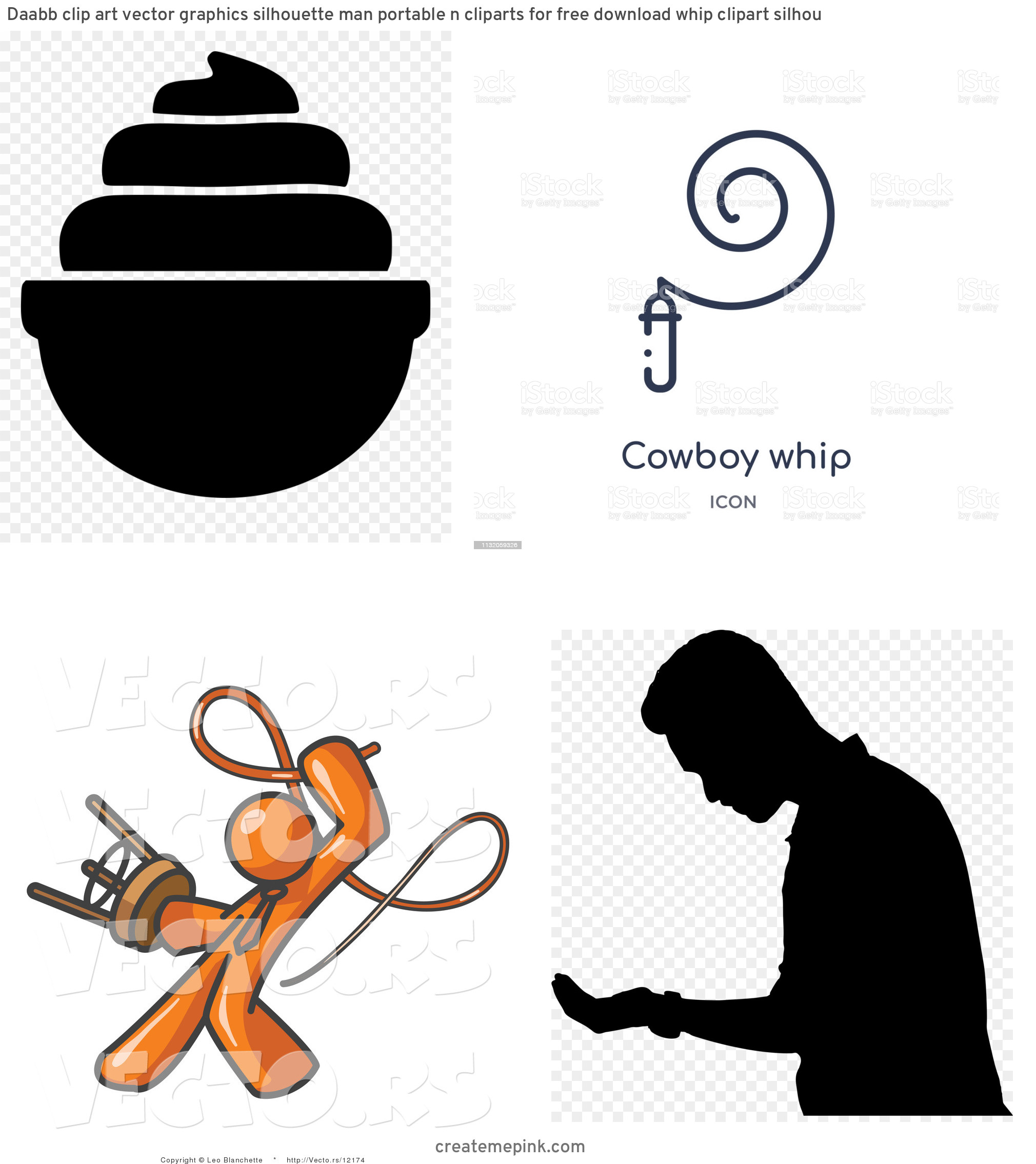 Whip Vector: Daabb Clip Art Vector Graphics Silhouette Man Portable N Cliparts For Free Download Whip Clipart Silhou