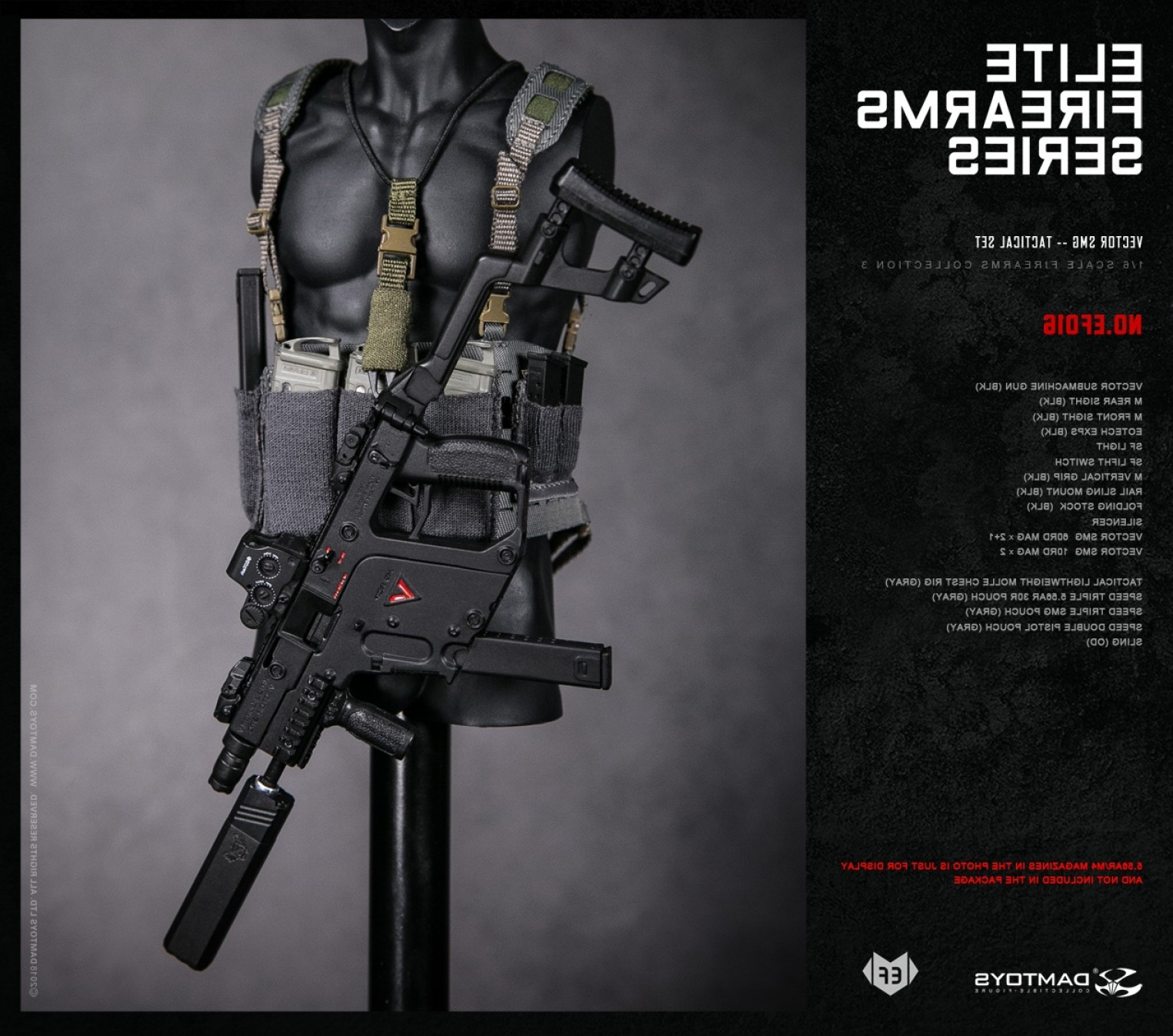 Kriss Vector Rear Grip: Damtoys Announces Elite Firearms Series Kriss Vector