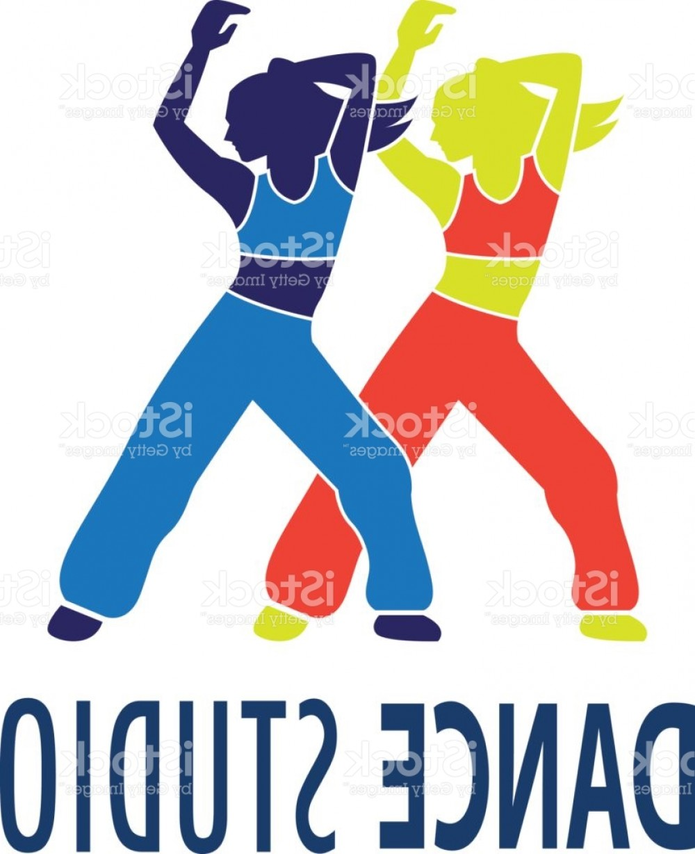 Zumba Vector Illustration: Dance Icon For Dance School Dance Studio Vector Illustration Gm