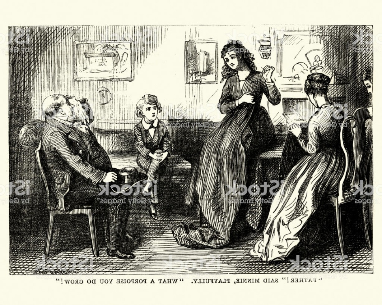 Minnie Vector Black And White: David Copperfield Charles Dickens Father Said Minnie Playfully Gm