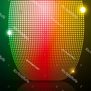 Spot Vector Ooo Sport Spotlight1ooo: Abstract Vector Background Halftone Ripple On
