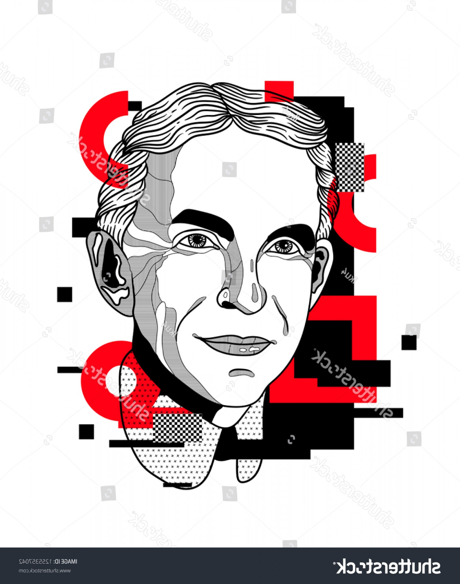 Ford Vector Art: Dec Henry Ford Vector