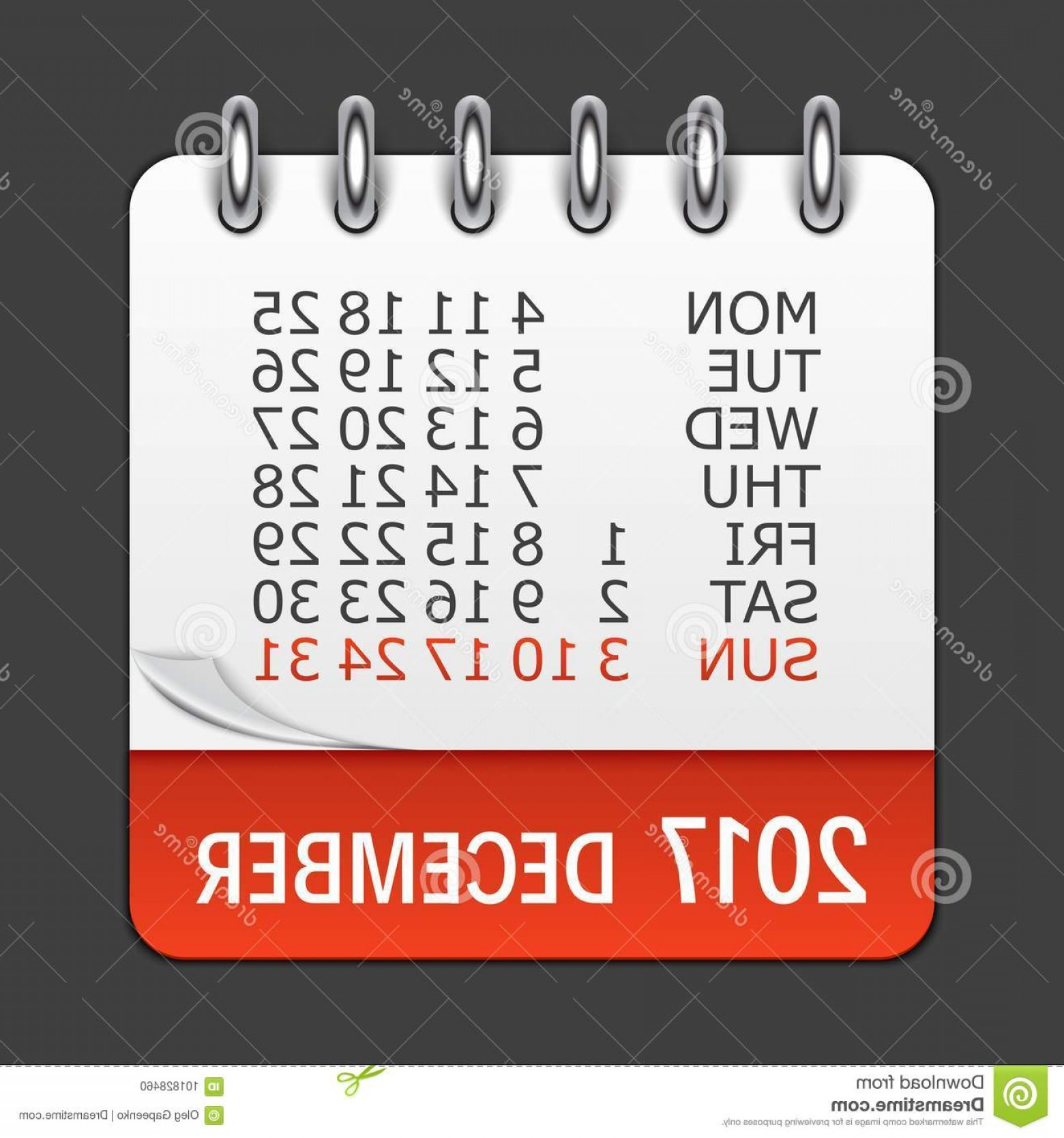 Vector Calendar Icon December 14th: December Calendar Icon Vector Illustration Emblem December Calendar Icon Vector Illustration Emblem Element Design Image