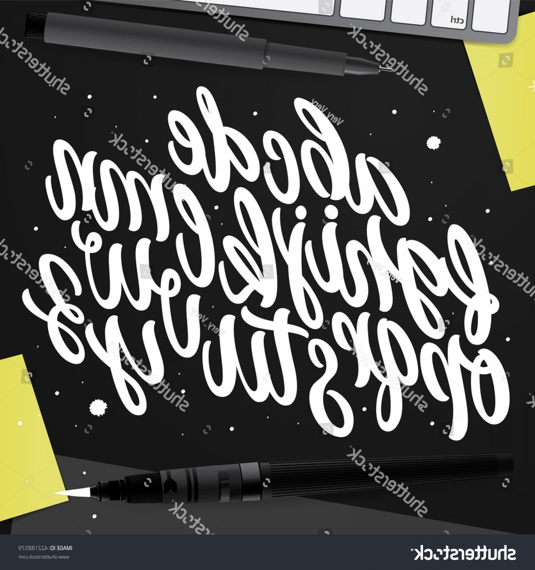 ABC News Logo Vector: Decorative Vector Abc Kit Nice Typography