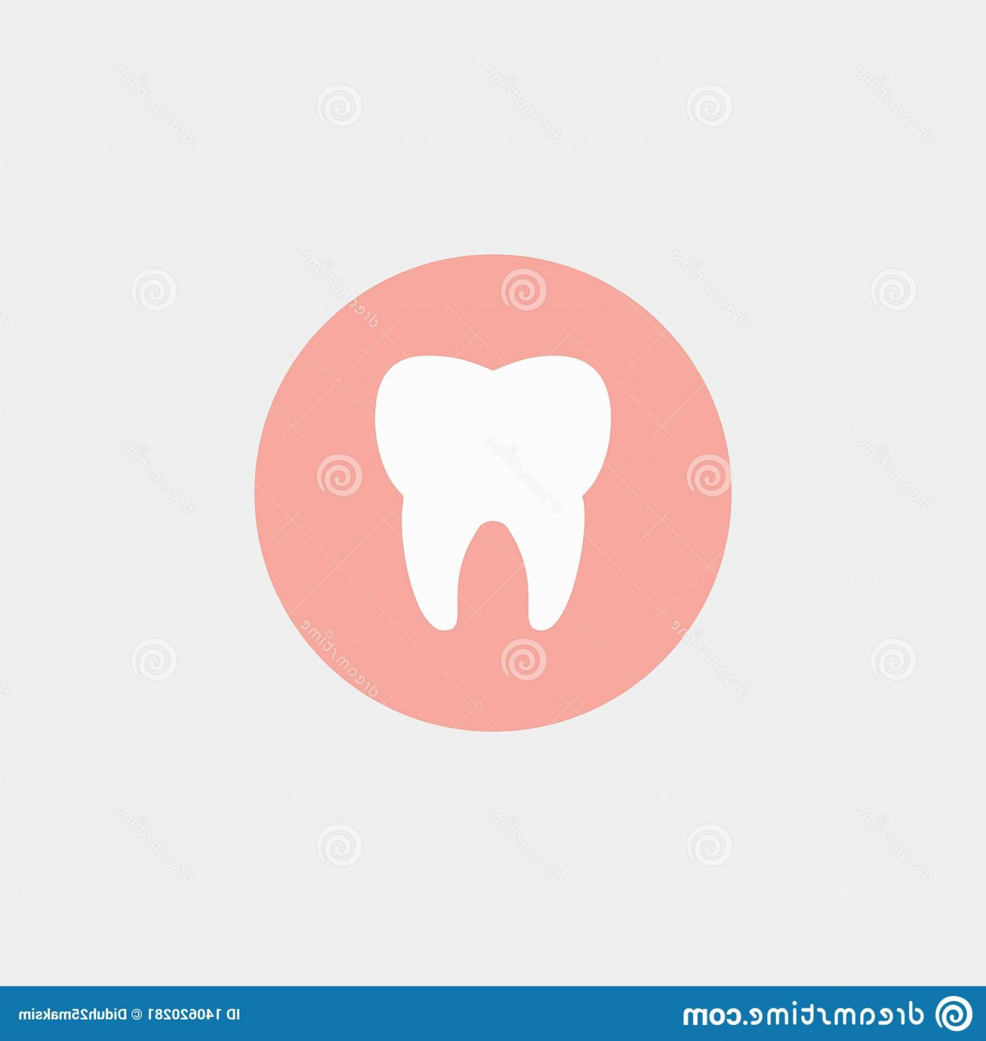 Tooth Vector Logo: Dental Logo Dentist Tooth Vector Illustration Eps Clean Image